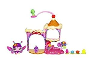 Game / Play Littlest Pet Shop Fairies Candy Swirl Dreams Sprinkle Palace Playset, littlest, pet, shop, party Toy / Child / Kid
