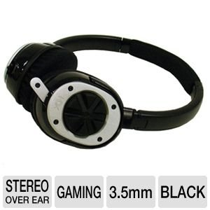 Nox Audio Specialist Headset and Negotiator Adapter Bundle - Black