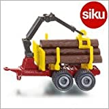 Siku(ジク)社 輸入ミニカー 1078 木材運搬トレーラー