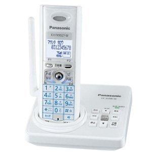 【Amazonの商品情報へ】Panasonic デジタルコードレス電話機 ホワイト VE-SV08DL-W