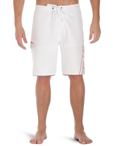 Rip Curl Prism Shock Board Men's Shorts White W32 IN