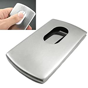 Amazon kilofly Business Card Holder Slide Out