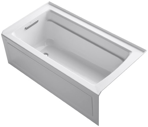 Lowest Price! KOHLER K-1123-LA-0 Archer 5-Foot Bath, White