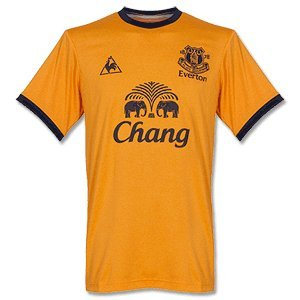11-12 Everton Away Jersey-M