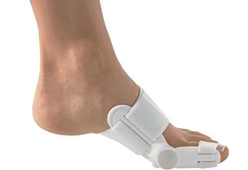 Dr Rogo Bunion Aid Hinged Splint for Bunions For Crooked Toes Alignment & Big Toe Joint Pain Relief Soothe Your Sore Feet, Ease Foot Pain and Prevent Bunion Surgery