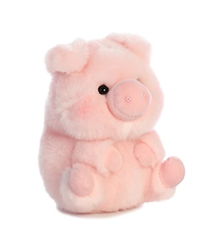 Aurora World Rolly Pet Prankster Pig Plush