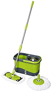 Magic Spin Mop Stainless Luxury Series - Mint Green