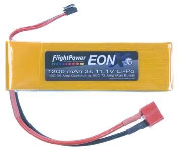 EONX30-12003S EONX 30 LiPo 3S 11.1V 1200mAh 30C