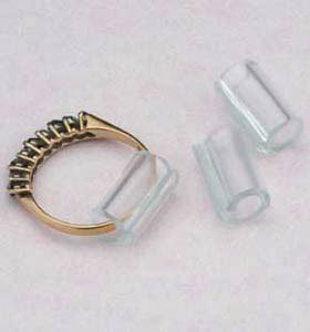 Pack Of 10 Invisible Ring Size Adjusters Amazon.co.uk Jewellery