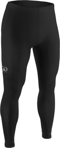 Youth Sports Form Fit, Ankle Length Compression Tight-Stay Dry And Cool During Football, Baseball, Dance, Track, And Soccer With Moisture Management And Anti-Microbial Technology-Sizes Ys, Ym, Yl (Youth Small, Black)