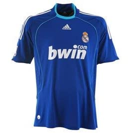 Real Madrid 2nd Away Soccer Jersey 08/09 & Matching Short Set (USA Size: L)