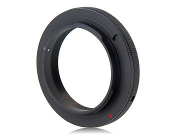 T2 Mount Telescope Lens To Olympus Cameras Adapter Ring (Black)