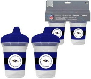 Baltimore Ravens Sippy Cup - 2 Pack - 1