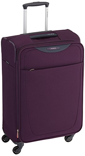 samsonite valise souple base hits 66 cm purple avis. Black Bedroom Furniture Sets. Home Design Ideas