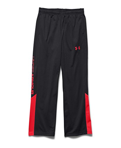 Under Armour Youth Boys Brawler 2.0 Pant, Black/Risk Red, Small