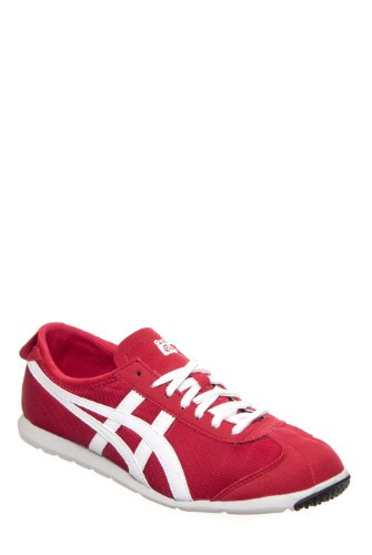 ASICS Onitsuka Tiger Men's Rio Runner Sneaker - Red White
