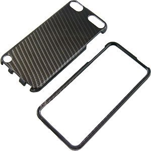Black Carbon Fiber Protector Case for iPod touch (5th gen.) yandex w205 amg style carbon fiber rear spoiler for benz w205 c200 c250 c300 c350 4door 2015 2016 2017