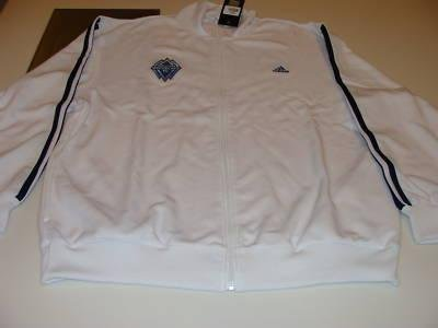 Vancouver Whitecaps FC Soccer MLS Adidas Track Top L - Men's NHL Other Apparel