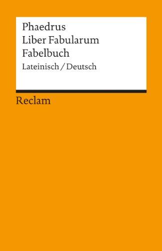 Liber Fabularum /Fabelbuch: Lat. /Dt.