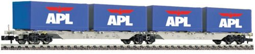 Fleischmann 825316 AAE APL Container Double Wagon V