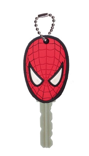 Marvel Spider-Man Soft Touch PVC Key Holder - 1