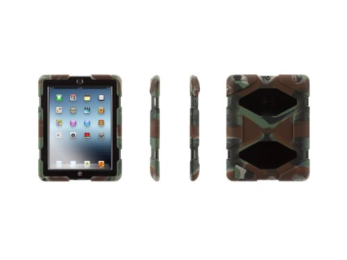 Survivor for iPad 2 & iPad 3 Military-duty Case with Stand (Griffin Ipad Cover compare prices)