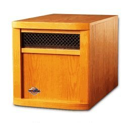 Sun Cloud 5118 Btu 1500 Watt Infrared Cabinet Electric Heater