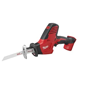 Bare-Tool Milwaukee 2625-20 M18 18-Volt Hackzall Cordless One-Handed Reciprocating Saw (Tool Only, No Battery) by Milwaukee