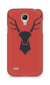 Amez designer printed 3d premium high quality back case cover for Samsung Galaxy S4 Mini (Rudolf logo art)