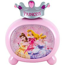 Disney Princess Crown Top Alarm Clock by Berger M Z & Company