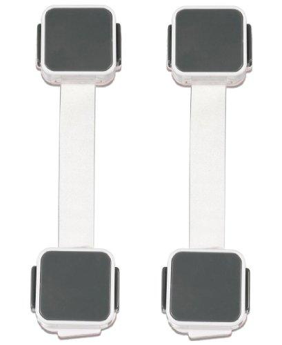 Munchkin Xtraguard Dual Locking Multi Use Latch - 4 Pack front-424485