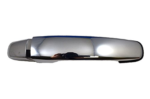 PT Auto Warehouse GM-3373M-FRK - Outside Exterior Outer Door Handle, Chrome - without Keyhole, Passenger Side Front (2009 Malibu Door Handle compare prices)