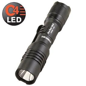 The Streamlight ProTac 1AA High Alkaline Flashlight features powerful C4 LED technology