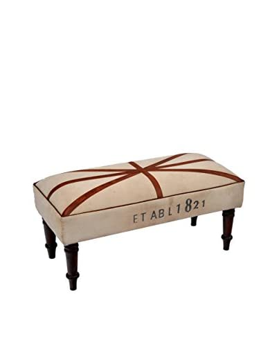 Wellington Bench, Tan/Brown