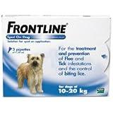 Frontline Spot On Flea Drops Medium Dog 10-20kg 3Pk