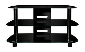 Bello PVS4215HG High Gloss Black Flat Panel Audio/Video System