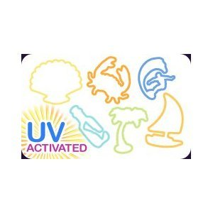 Silly Bandz UV Activated Color Changing Beach Bandz