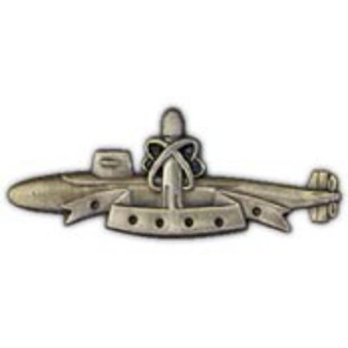 U.S. Navy Submarine Patrol Pin 1 1/2