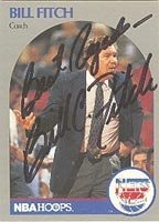 Bill Fitch New Jersey Nets 1990 Hoops Autographed Hand Signed Trading Card - Nice... by Hall+of+Fame+Memorabilia