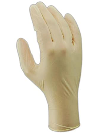 "Magid EconoWear T5448 Vinyl Glove, Powder Free, Disposable, 9.5"" Length, 4.5 mils Thick"