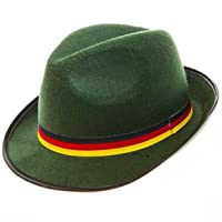 Green Oktoberfest Alpine Hat by Century Novelty