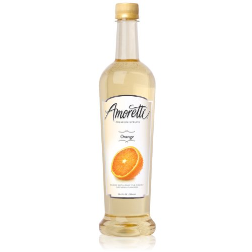 Amoretti Premium Syrup, Orange, 25.4 Ounce