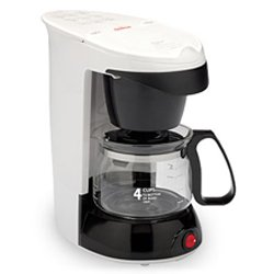 SUNBEAM 4 CUP COFFEMAKER * WHITE MODEL 3226
