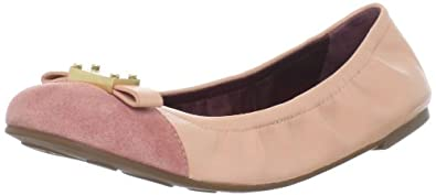 Marc by Marc Jacobs Women's 626068/2 Ballet Flat,Blush Nappa,37.5 EU/37.5-7.5 M US