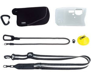 Canon AKT-DC2 Accessory Kit for Outdoor Camera (Black)