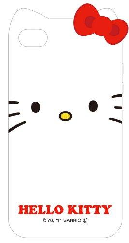 グルマンディーズ ハローキティ iPhone4/iPhone4S共用キャラクタージャケット SAN-96KTA