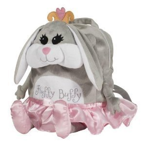 Laid Back Kids Fluffy Buffy Bunny Backpack