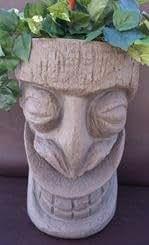 Happy Tiki Planter SandStone