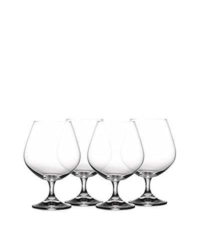 Fitz & Floyd Giselle Set of 4 Brandy Glasses