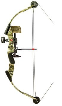 PSE Deer Hunter S3 Left Hand Compound Bow, 40#, 24